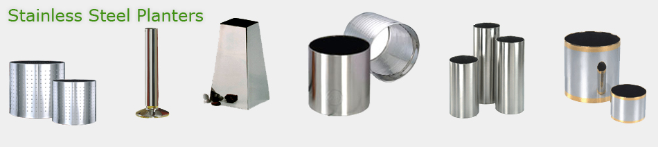 Stainless Steel Planters India